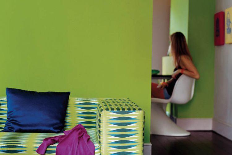 Happy Home: Serene in green