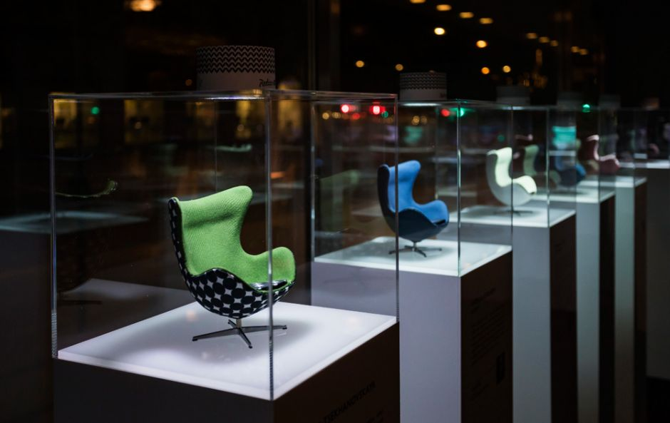 Arne Jacobsen-inspired exhibition stops off at the Radisson Blu for very stylish stay