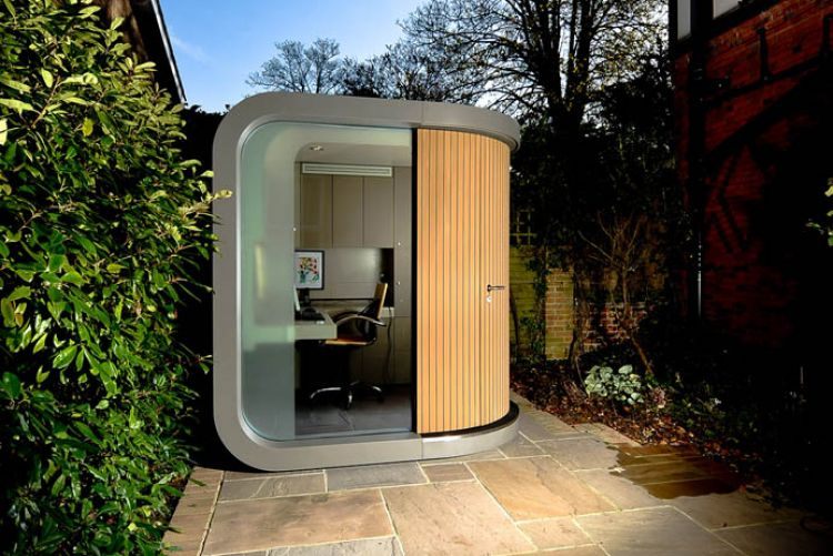 The OfficePOD & how to work in a small space
