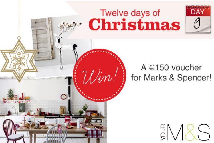 WIN a €150 voucher for Marks & Spencer!