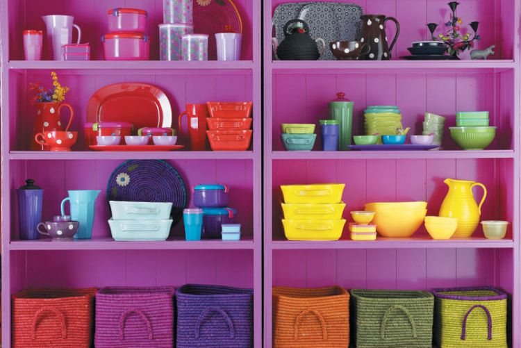 3 colourful storage solutions to brighten your home