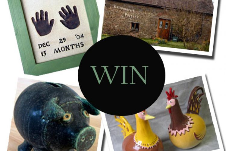 WIN! The Friday Freebie with Pickit: Ballymorris Pottery