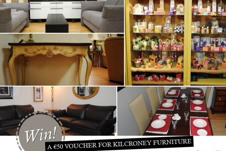 WIN! The Friday Freebie with Pickit: Kilcroney Furniture