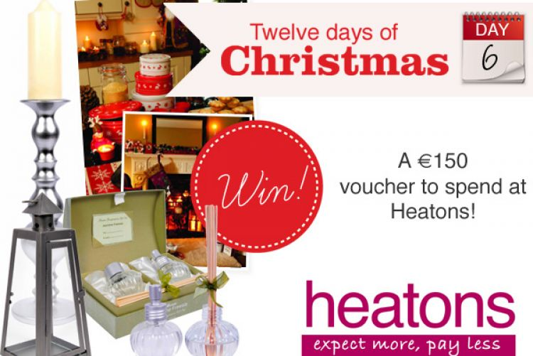 WIN! A €150 voucher to spend at Heatons!