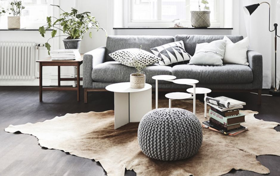 GET THE LOOK: Cool toned grey, scandi-chic