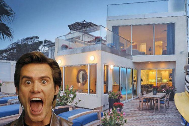 Jim Carrey's Malibu home for sale