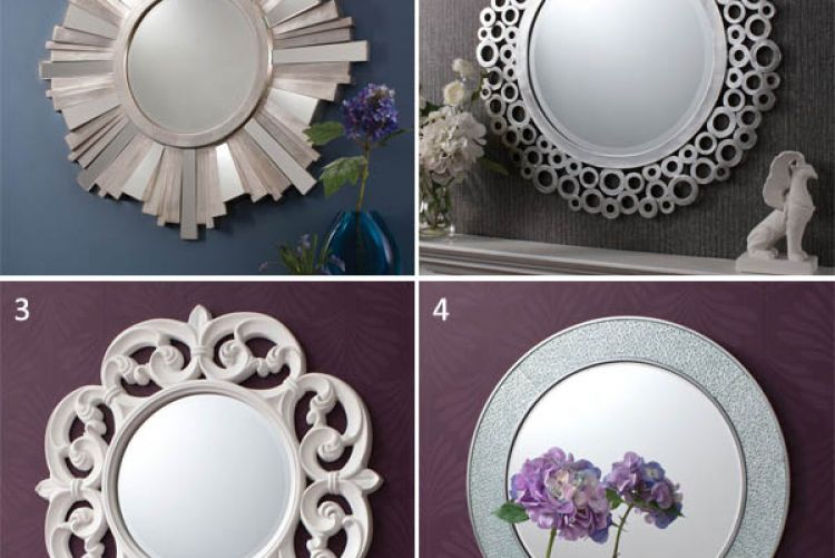Round Up: 4 circular mirrors from Absolute Essentials on Pickit