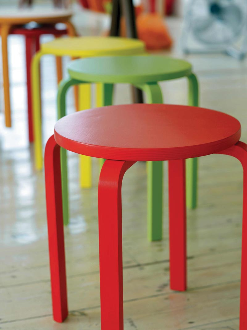 paint personality painted stools