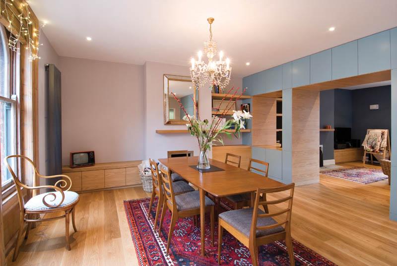 Nick Seymour's home renovation - living area