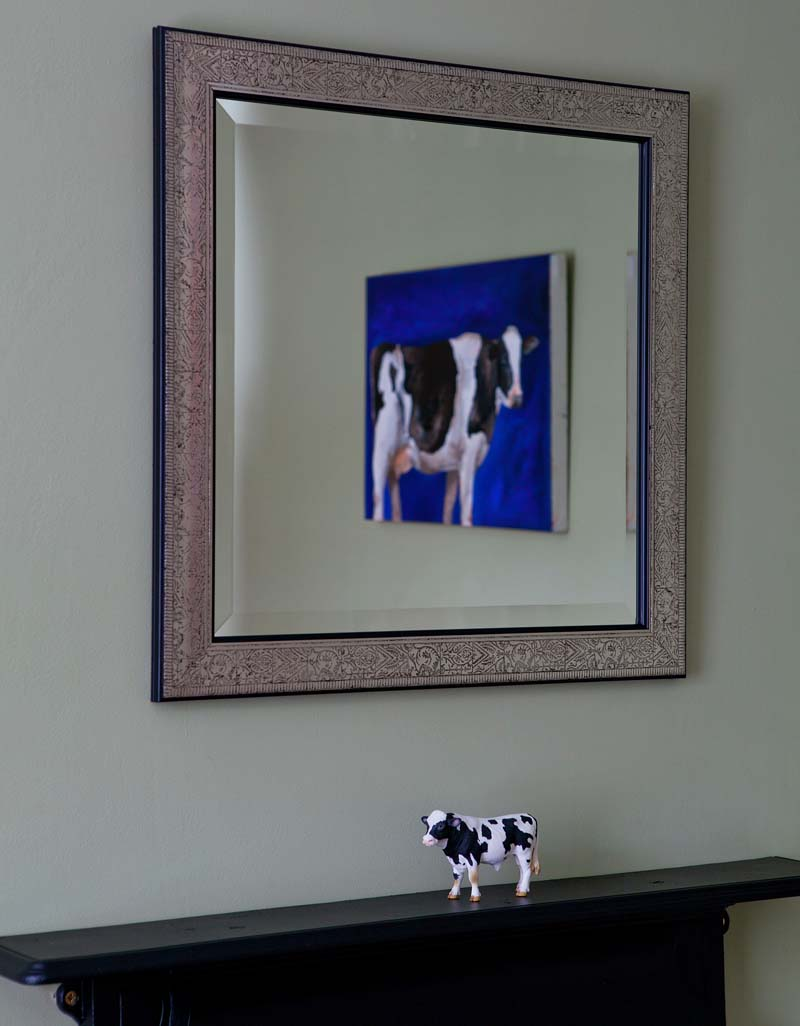 cow accessories in stuart o'sullivan's house