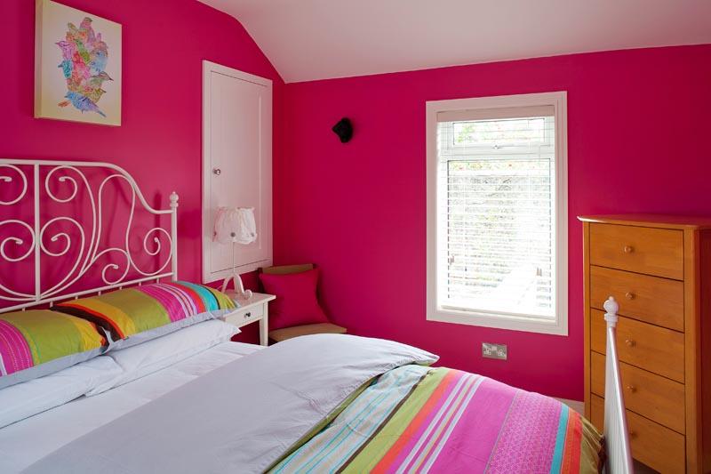 Stuart O'Sullivan's Stoneybatter guest bedroom