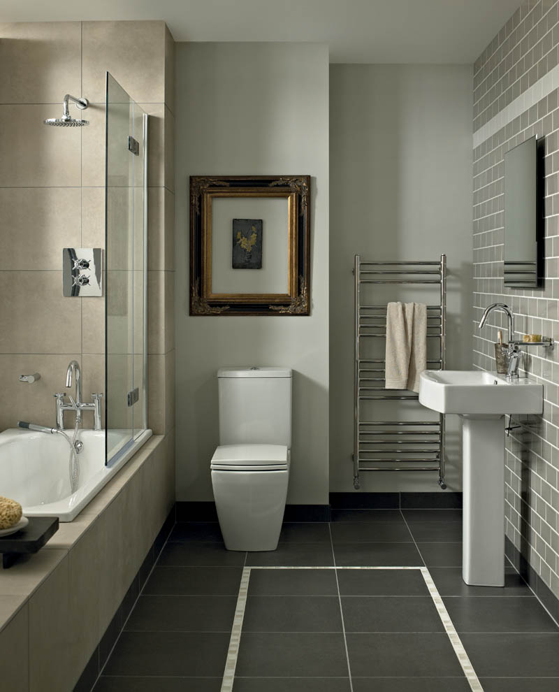brown wycombe bathroom suite including accessories from fired earth