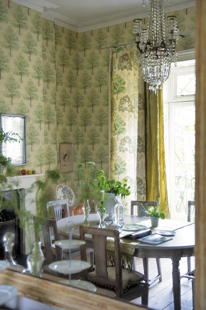 Designer's Guild wallpaper