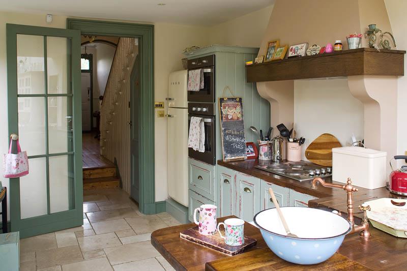 Mary Kingston's kitchen