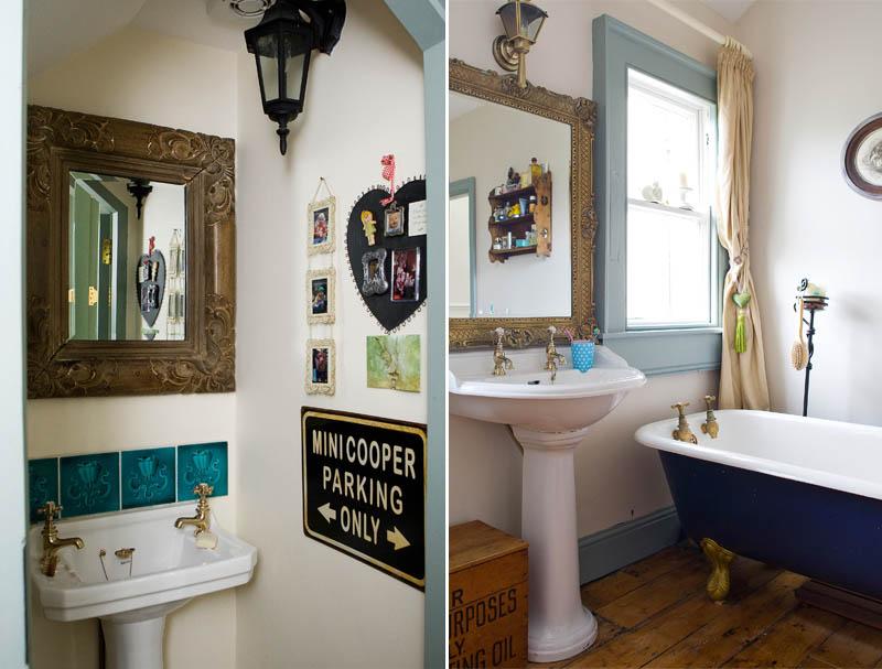 bathrooms at Mary Kingston's house
