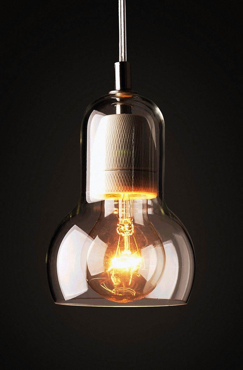 Bulb pendant, €74.75, Design My World