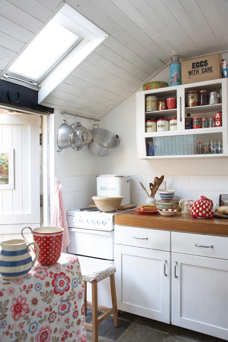 shabby chic cath kidston kitchen