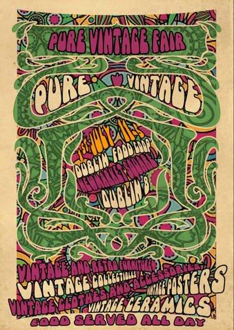 Pure Vintage Fair poster