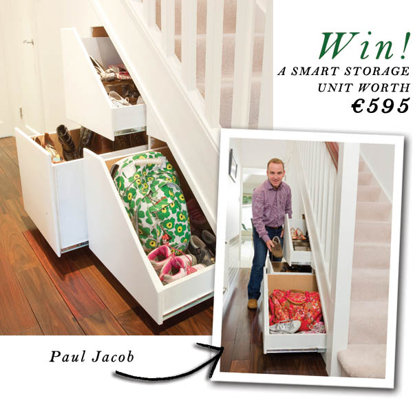 win a smart storage unit worth €595