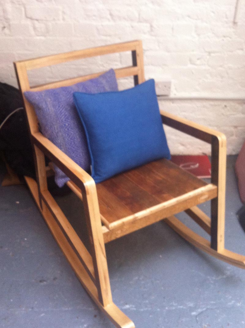 Rocking chair by Rockerlane Workshop