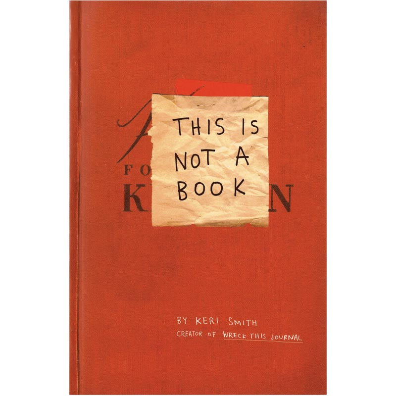 Notebook, €10, The Literary Gift Company, www.theliterarygiftcompany.com
