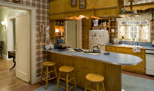 Mad men interiors timeless designs from the 60s for Kitchen design 60s