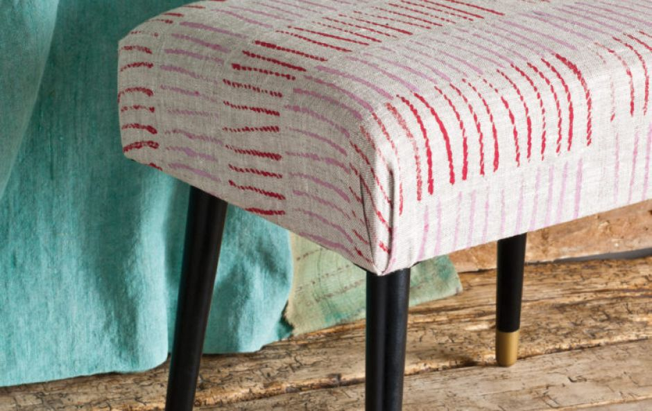 Home hack: create your own easy, DIY printed footstool