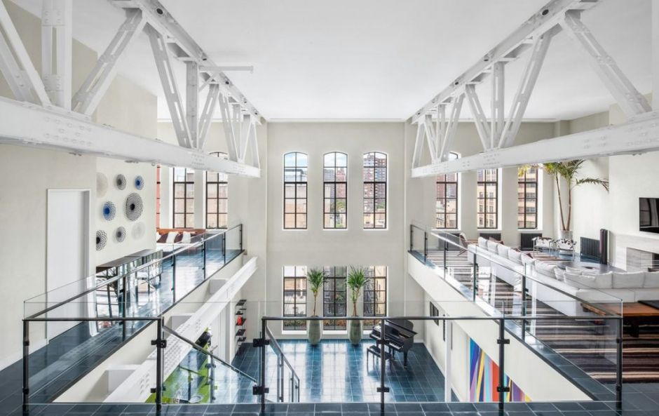 This amazing New York loft used to be the iconic YMCA