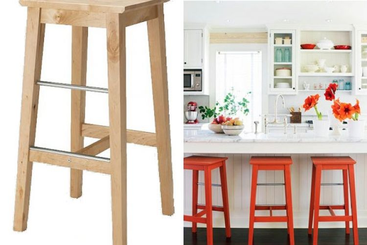 Quick bar stool makeover for under €10