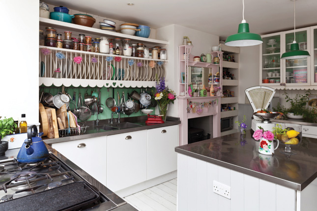 1950s Style Kitchen inside sharon hearne-smith's 1950s-style kitchen | houseandhome.ie