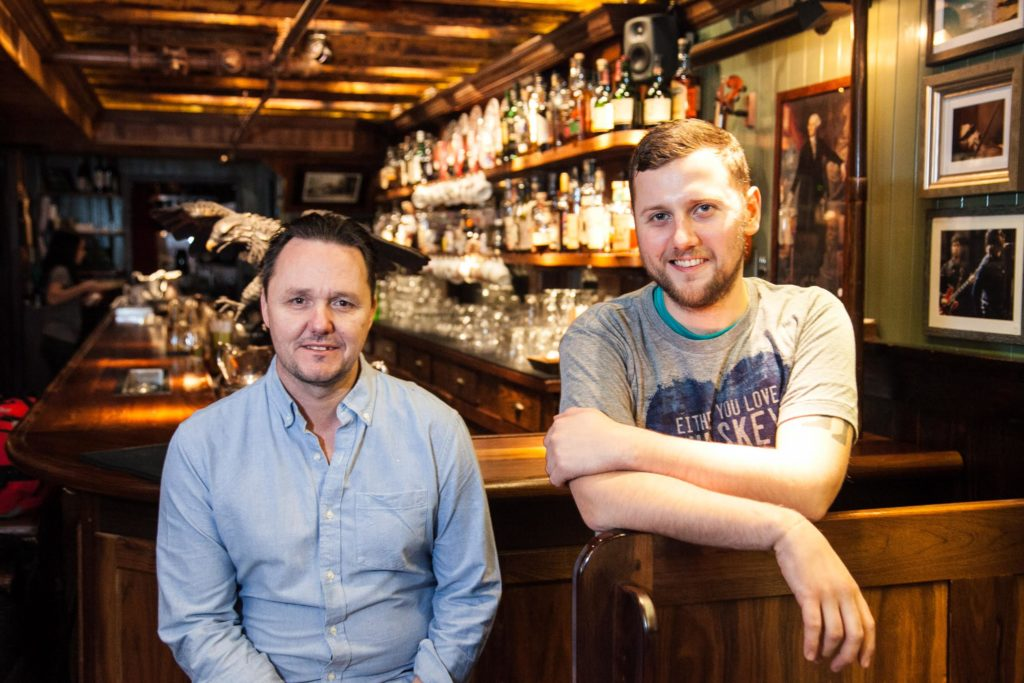 The Dead Rabbit duo - Sean Muldoon and Jack McGarry