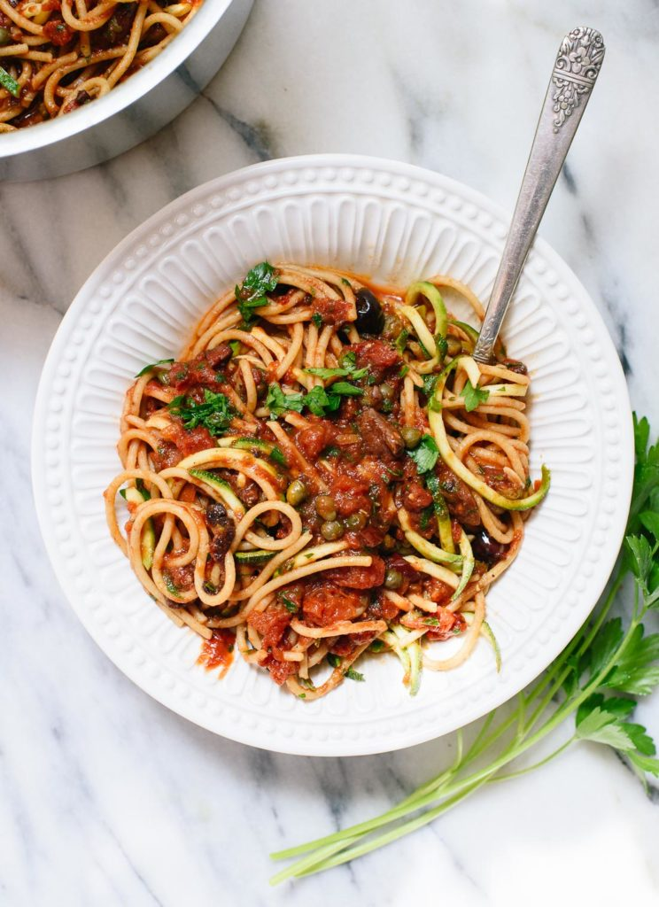 cookie-and-kate-vegan-spaghetti-alla-puttanesea