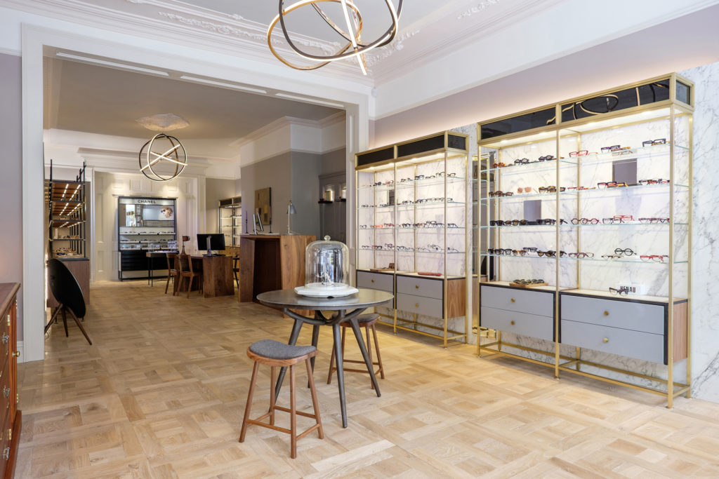 Optica Dawson St A Third Shortlisted Entrant In The Commercial Interiors Category