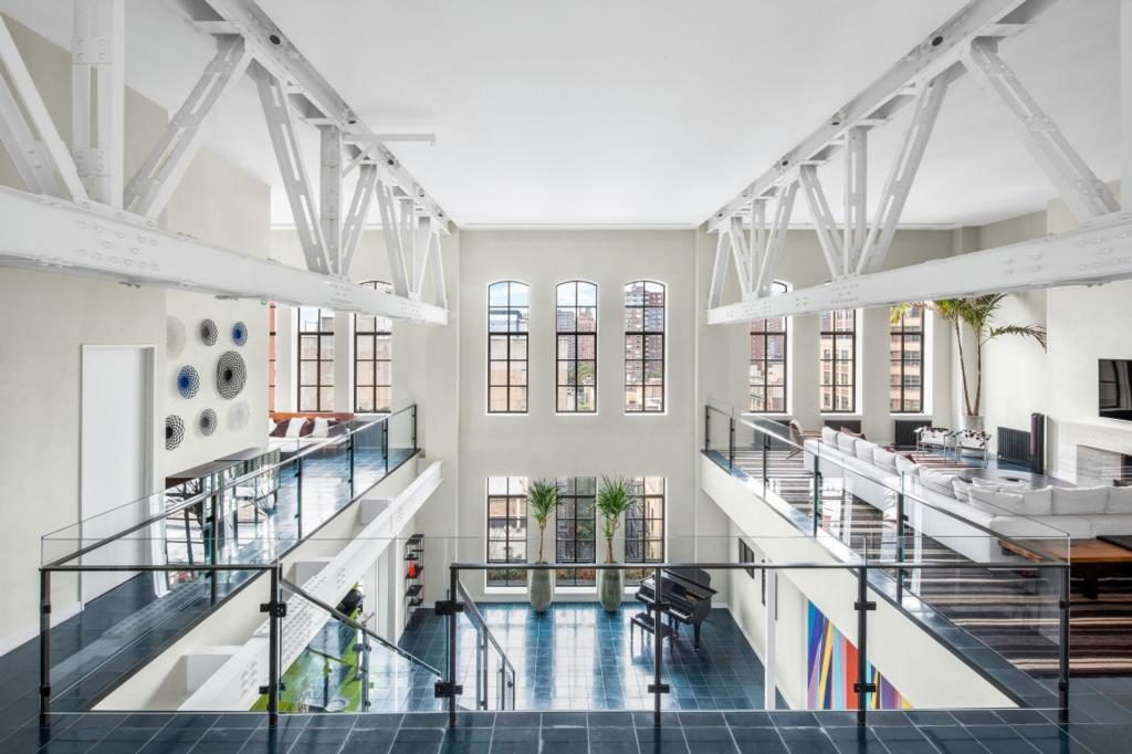 This Amazing New York Loft Used To Be The Iconic Ymca Houseandhome Ie