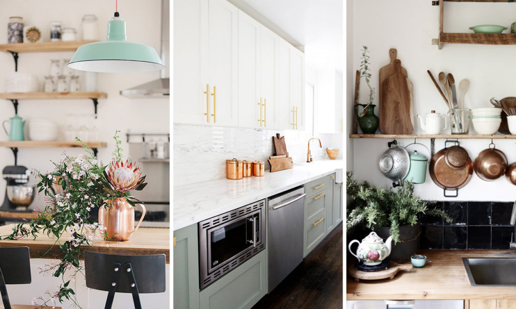 Get the look: mint and copper kitchen accessories | HouseAndHome.ie