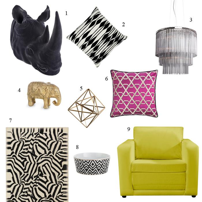 Steal Gwen Stefani's B.A.N.A.N.A.S Home Interiors Style