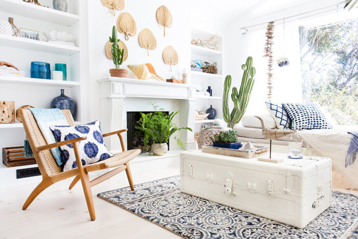 layer a room sunroom transformation gif emily henderson