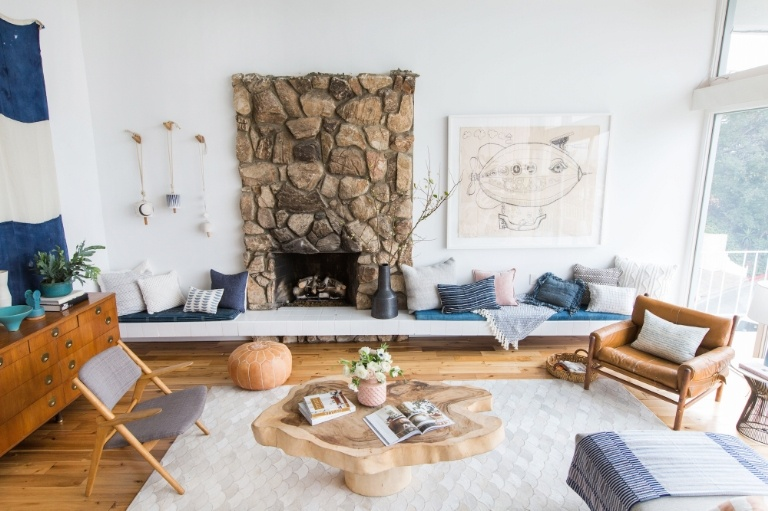 interiors blogger Emily Henderson real home tour interior stylist house