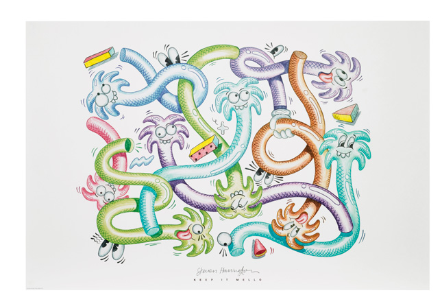 IKEA's Art Event 2017 artists home art posters hand-drawn