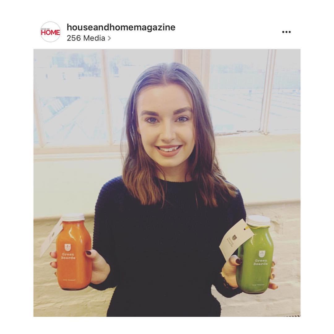 we tried Green Beards juice cleanse healthy