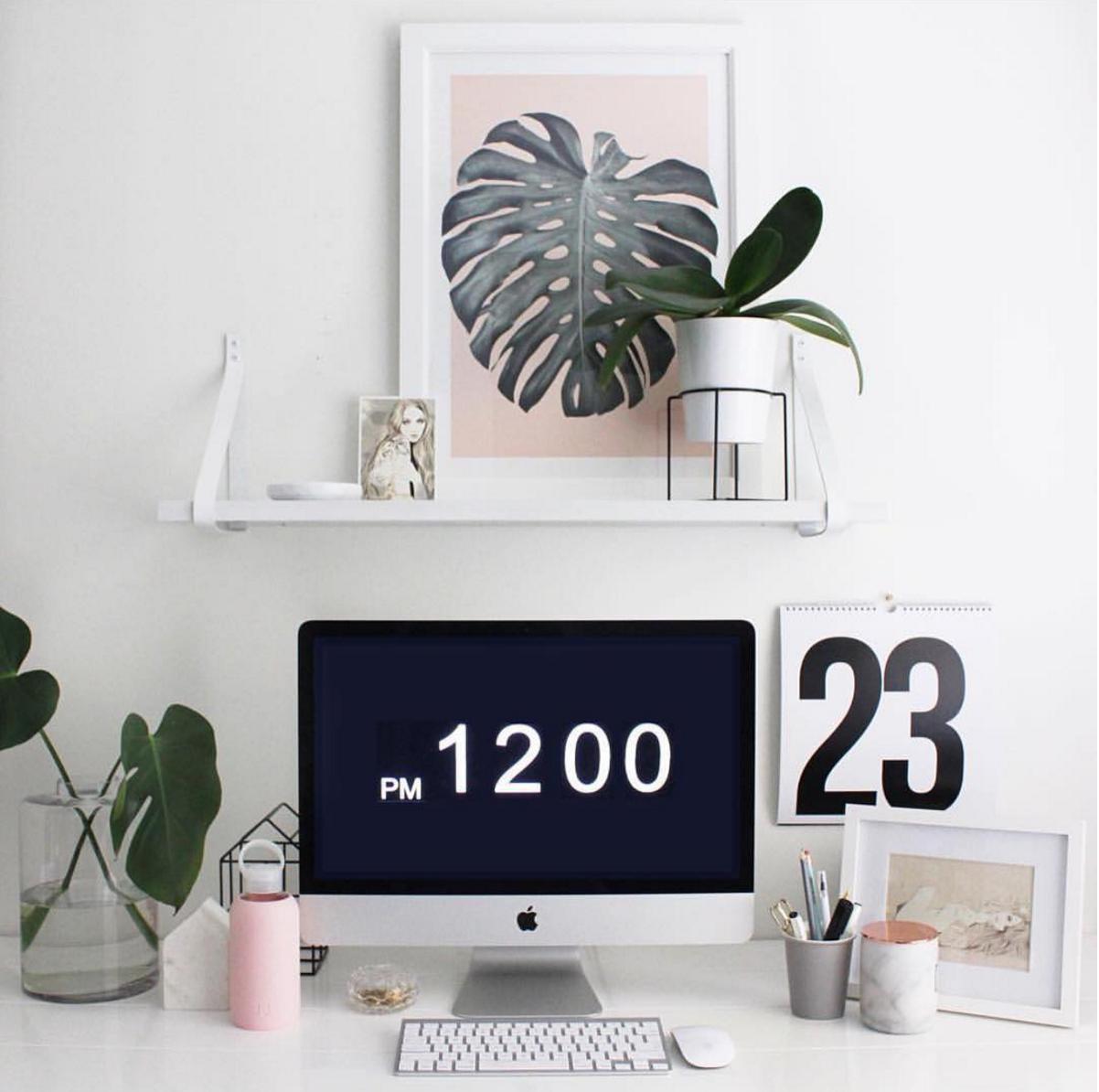 Instagram desk goals
