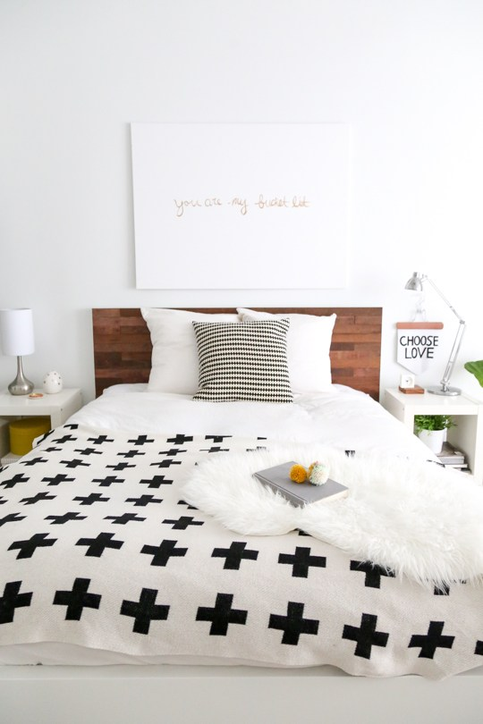 This Extremely Simple Ikea Hack Totally Transforms The Malm Bed