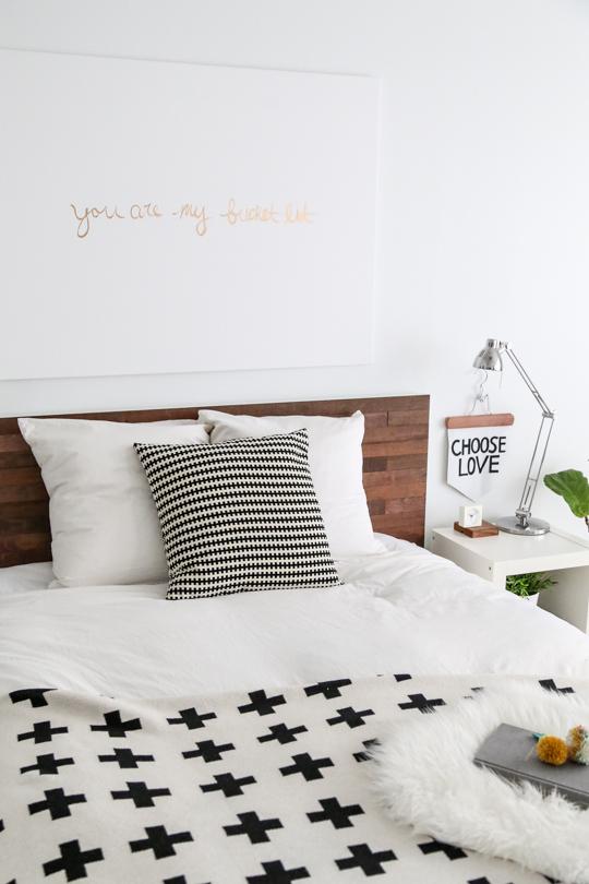 MALM bed ikea hack sugar and cloth