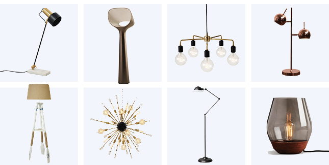 lights homewares well-lit home bedroom dining room living room