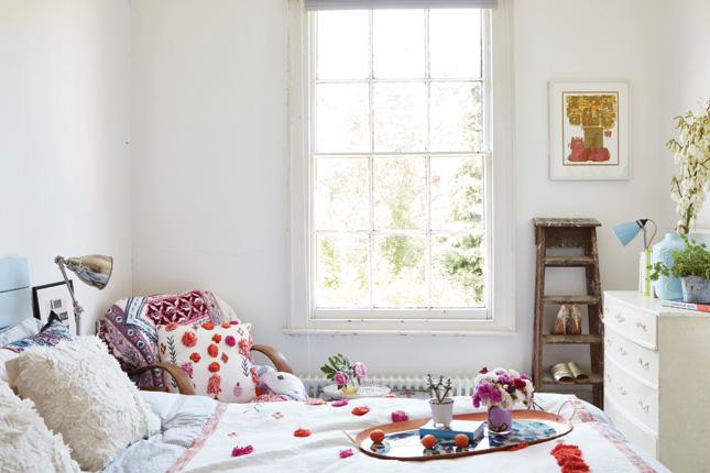 eclectic boho style interiors farmhouse renovation real home tour