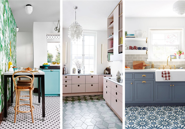 11 patterned kitchen floors that got it so right   HouseAndHome.ie