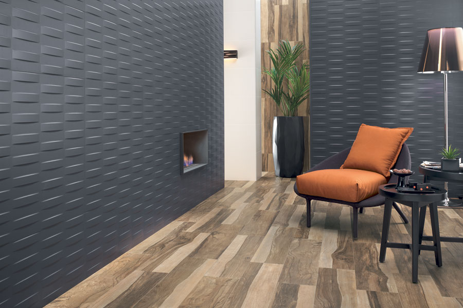 three dimensional tiling trend