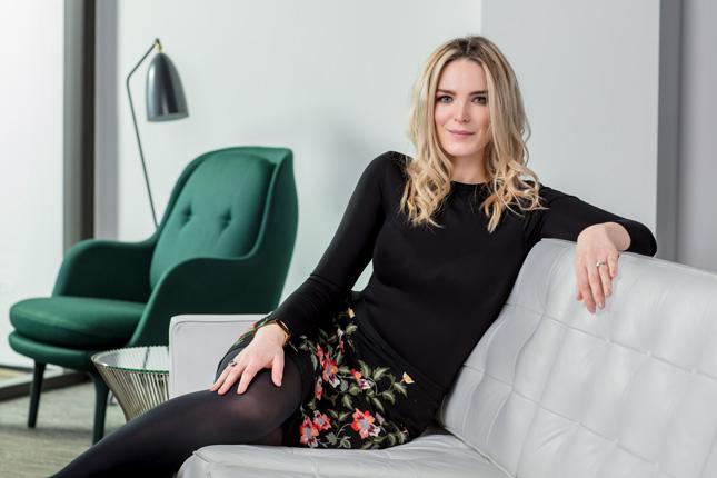 Interior designer Suzie McAdam