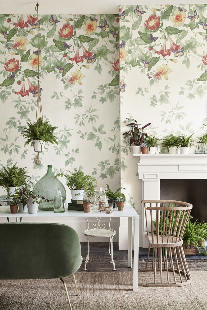 Little Green Archive Trails collection - Astrid - Lantern. When choosing a wallpaper ...
