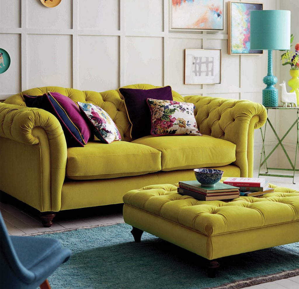 Yellow couch, DFS